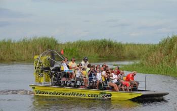 Ausflugs-Check: Mit dem Propellerboot durch Floridas Sümpfe